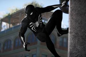 Black Spiderman 4k