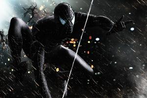 Black Spiderman Hd Superheroes 4k Wallpapers Images