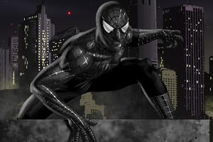 Black Spiderman Artworks