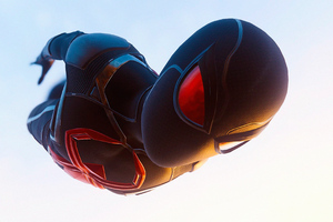 Black Spiderman Suit 4k