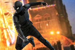 Black Stealth Spiderman Suit
