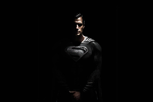 Black Suit Superman 4k 2020