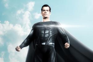 Black Superman Henry Cavill