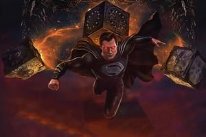 Black Superman Justice League 2020
