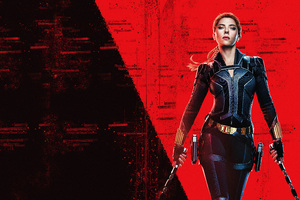 Black Widow 10k Wallpaper