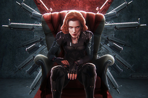 Black Widow 2020 Artwork 4k Wallpaper
