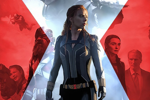 Black Widow 2020 Artwork Wallpaper