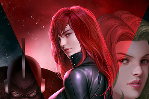 Black Widow 2020 Artworks Wallpaper