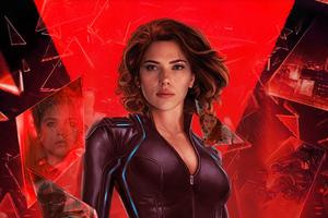 Black Widow 2020 Movie Artwork 4k Wallpaper