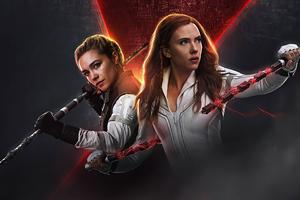 Black Widow 2020 Poster 4k