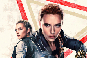 Black Widow 2020 Total Film Wallpaper