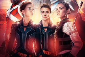 Black Widow 2021 Movie Poster 5k Wallpaper