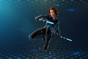 Black Widow 3D 4k