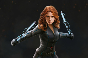 Black Widow 4k Artwork New
