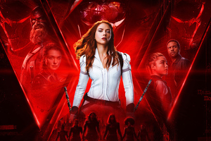 Black Widow 4k Movie 2020 Wallpaper