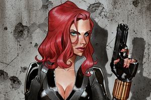 Black Widow 4k New Art
