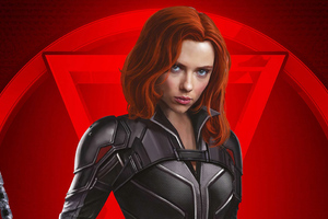 Black Widow 4k Poster 2020 Wallpaper