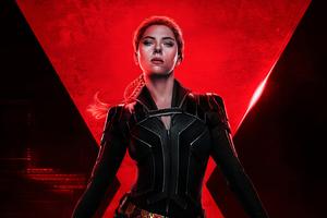 Black Widow 4k Poster Wallpaper