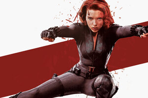Black Widow 8k Art
