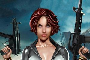 Black Widow Art 2020