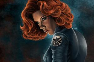 Black Widow Artworks Wallpaper
