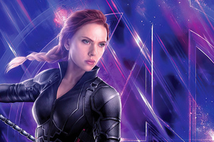 Black Widow Avengers 4k Wallpaper