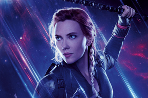Black Widow Avengers End Game 8k Wallpaper