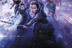 Black Widow Avengers Endgame 10k