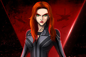 Black Widow Comic Poster 4k Wallpaper
