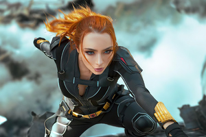 Black Widow Cosplay 2021 4k Wallpaper