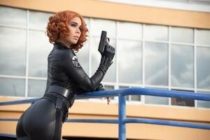 Black Widow Cosplay 5k