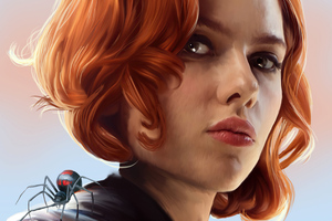 Black Widow Danger Queen 4k Wallpaper