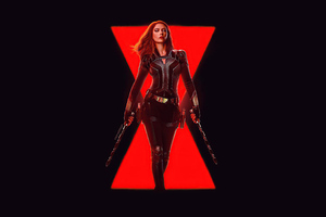 Black Widow Dark Art 5k Wallpaper