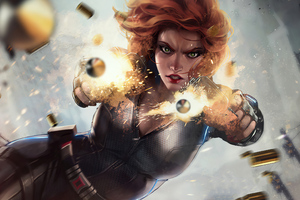 Black Widow Firing