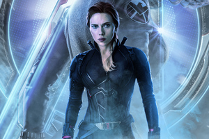 Black Widow In Avengers Endgame 2019