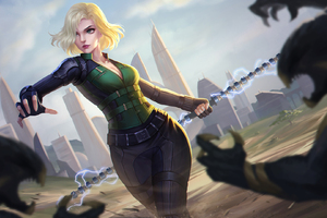Black Widow In Avengers Infinity War 2018 Artwork HD
