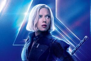 Black Widow In Avengers Infinity War New 8k Poster