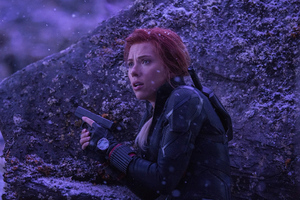 Black Widow In Avengersendgame