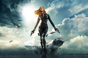 Black Widow In Captain America Winter Solider