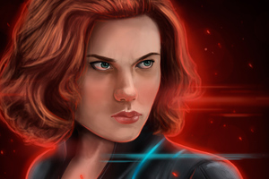 Black Widow Latest Art