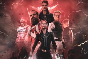 Black Widow Marvel Studios Fanart 4k Wallpaper