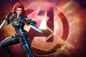 Black Widow Marvel Super War Wallpaper