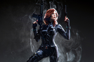 Black Widow Marvel Superhero Wallpaper