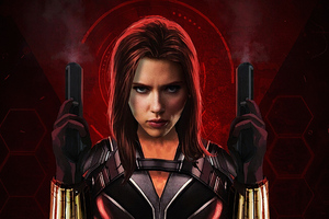 Black Widow Movie Art