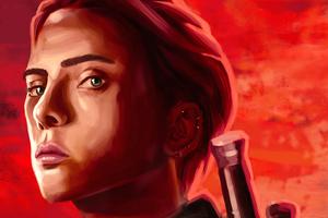 Black Widow Movie Poster 4k