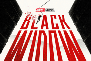 Black Widow Movie Poster Art 4k Wallpaper