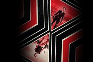 Black Widow Movie Poster Dark 5k Wallpaper
