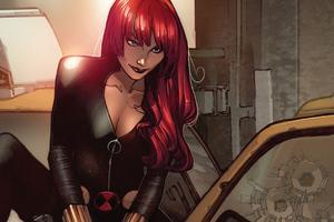 Black Widow New Arts Wallpaper