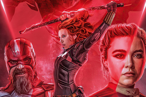 Black Widow New Poster Artwork
