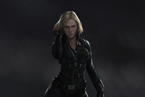 Black Widow Newart